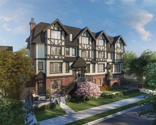 "Main Photo: SL13 459 WEST 63RD Avenue in Vancouver: Marpole Townhouse for sale in ""TUDOR HOUSE"" (Vancouver West)  : MLS®# R2144746"