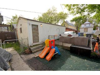Photo 20: 97 Grove Street in Winnipeg: Point Douglas Residential for sale (9A)  : MLS®# 1712937