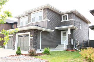 Main Photo: 1122 177A Street SW in Edmonton: Zone 56 House Half Duplex for sale : MLS®# E4124757