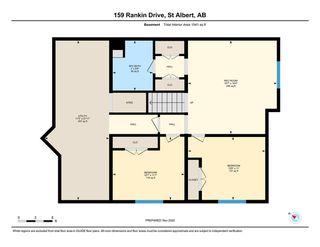 Photo 32: 159 Rankin Drive: St. Albert House Half Duplex for sale : MLS®# E4221048