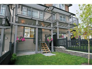 "Photo 2: 120 1480 SOUTHVIEW Street in Coquitlam: Burke Mountain Townhouse for sale in ""CEDAR CREEK"" : MLS®# V1031696"