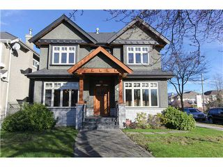 Main Photo: 2905 W 22ND Avenue in Vancouver: Arbutus House for sale (Vancouver West)  : MLS®# V1105672