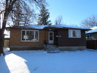 Photo 1: 404 Greene Avenue in WINNIPEG: East Kildonan Residential for sale (North East Winnipeg)  : MLS®# 1530054