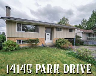 Photo 1: 14145 PARK Drive in Surrey: Bolivar Heights House for sale (North Surrey)  : MLS®# R2335286