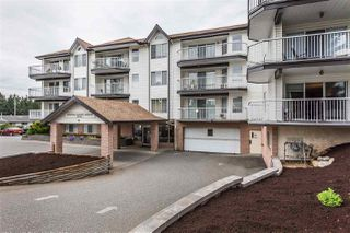 "Photo 1: 320 33535 KING Road in Abbotsford: Poplar Condo for sale in ""Central Heights Manor"" : MLS®# R2337250"