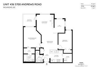 """Photo 2: 436 5700 ANDREWS Road in Richmond: Steveston South Condo for sale in """"Rivers Reach"""" : MLS®# R2377965"""