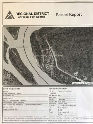 Photo 4: LOT 10 ISLAND PARK Drive in Prince George: Miworth Land for sale (PG Rural West (Zone 77))  : MLS®# R2388123