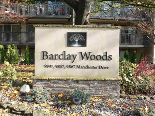 "Main Photo: 308 9867 MANCHESTER Drive in Burnaby: Cariboo Condo for sale in ""BARCLAY WOODS"" (Burnaby North)  : MLS®# R2419502"