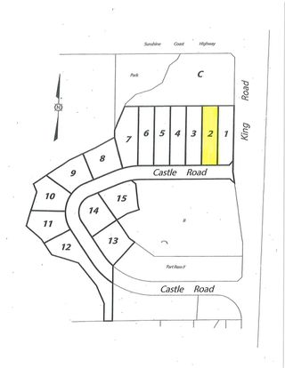"Main Photo: LOT 2 CASTLE Road in Gibsons: Gibsons & Area Land for sale in ""KING & CASTLE"" (Sunshine Coast)  : MLS®# R2422341"