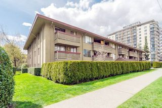 Photo 1: 110 436 SEVENTH Street in New Westminster: Uptown NW Condo for sale : MLS®# R2491217
