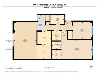 Photo 31: 209 315 HERITAGE Drive SE in Calgary: Acadia Apartment for sale : MLS®# A1033395