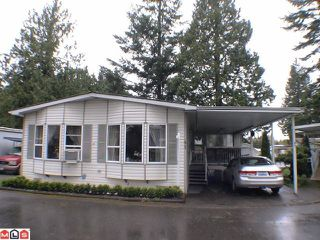 "Photo 1: 41 24330 FRASER Highway in Langley: Otter District Manufactured Home for sale in ""LANGLEY GROVE ESTATES"" : MLS®# F1107918"