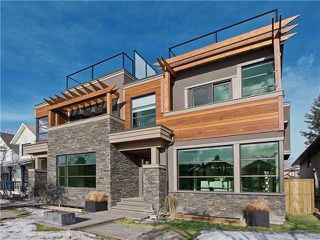 Main Photo: 2216 3 Avenue NW in CALGARY: West Hillhurst Residential Attached for sale (Calgary)  : MLS®# C3601192