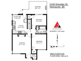 Photo 17: 3149 GRAVELEY Street in Vancouver: Renfrew VE House for sale (Vancouver East)  : MLS®# V1059398