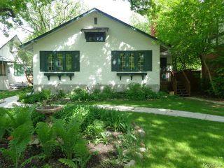 Photo 1: 273 Overdale Street in WINNIPEG: St James Residential for sale (West Winnipeg)  : MLS®# 1409291