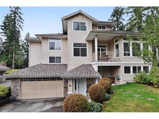 Photo 1: 8 MOSSOM CREEK Drive in Port Moody: North Shore Pt Moody House 1/2 Duplex for sale : MLS®# V1104337