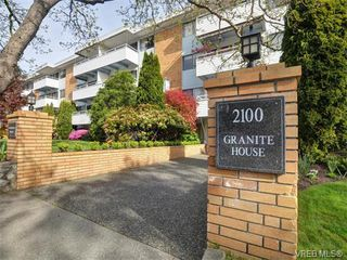 Photo 1: 212 2100 Granite Street in VICTORIA: OB South Oak Bay Condo Apartment for sale (Oak Bay)  : MLS®# 374766
