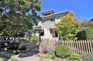 Photo 1: 335 PINE Street in New Westminster: Queens Park House for sale : MLS®# R2202054