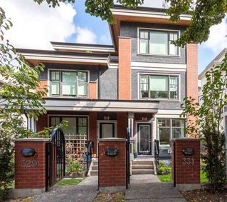 """Photo 2: 331 E 7TH Avenue in Vancouver: Mount Pleasant VE Townhouse for sale in """"ESSENCE"""" (Vancouver East)  : MLS®# R2201974"""