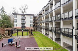 "Photo 1: 210 14358 60 Avenue in Surrey: Sullivan Station Condo for sale in ""Sullivan Station"" : MLS®# R2230639"