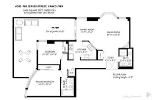"Photo 17: 301 789 JERVIS Street in Vancouver: West End VW Condo for sale in ""JERVIS COURT"" (Vancouver West)  : MLS®# R2236913"