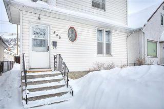 Photo 2: 549 Elgin Avenue in Winnipeg: Single Family Detached for sale (5A)  : MLS®# 1903292