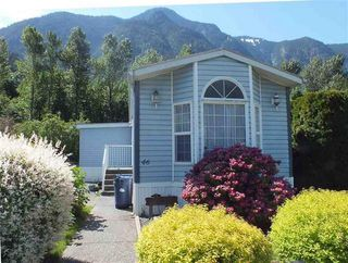 Photo 1: 46 62790 FLOOD HOPE Road in Hope: Hope Laidlaw Manufactured Home for sale : MLS®# R2354384