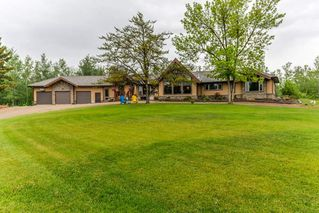 Photo 1: 25 52550 RGE RD 225 Road: Rural Strathcona County House for sale : MLS®# E4186629