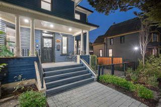"""Photo 1: 616 E PRINCESS Avenue in Vancouver: Strathcona House 1/2 Duplex for sale in """"AGNES MCNAIR RESIDENCE"""" (Vancouver East)  : MLS®# R2505367"""