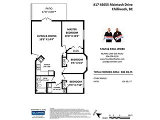 """Photo 21: 105B 45655 MCINTOSH Drive in Chilliwack: Chilliwack W Young-Well Condo for sale in """"McIntosh Place"""" : MLS®# R2515821"""