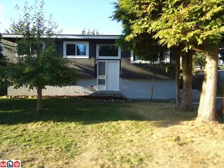 Photo 1: 34453 KENT Avenue in Abbotsford: Abbotsford East House for sale : MLS®# F1122221