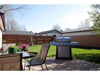 Photo 18: 62 Thunder Bay in Winnipeg: Meadowood Residential for sale (2E)  : MLS®# 1711204