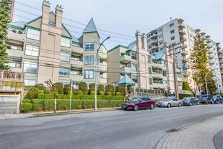 """Photo 1: 107 509 CARNARVON Street in New Westminster: Downtown NW Condo for sale in """"HILLSIDE PLACE"""" : MLS®# R2340236"""