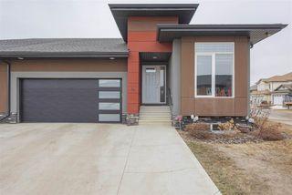 Photo 2: 4 4517 190A Street in Edmonton: Zone 20 House Half Duplex for sale : MLS®# E4148800