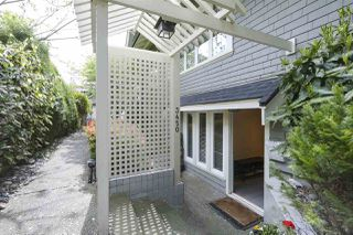 Photo 2: 3450 W 3RD Avenue in Vancouver: Kitsilano Townhouse for sale (Vancouver West)  : MLS®# R2363406