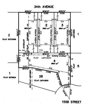 "Main Photo: Lt. 1 15574 34 Avenue in Surrey: Morgan Creek Land for sale in ""Morgan Creek"" (South Surrey White Rock)  : MLS®# R2434273"