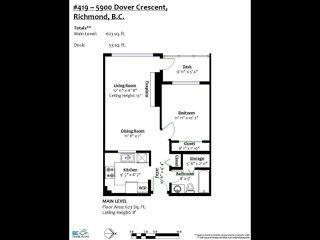 """Photo 20: 419 5900 DOVER Crescent in Richmond: Riverdale RI Condo for sale in """"THE HAMPTONS"""" : MLS®# R2445296"""