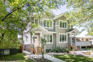 Photo 2: 9739 70 Avenue in Edmonton: Zone 17 House Half Duplex for sale : MLS®# E4200433