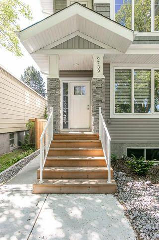Photo 4: 9739 70 Avenue in Edmonton: Zone 17 House Half Duplex for sale : MLS®# E4200433