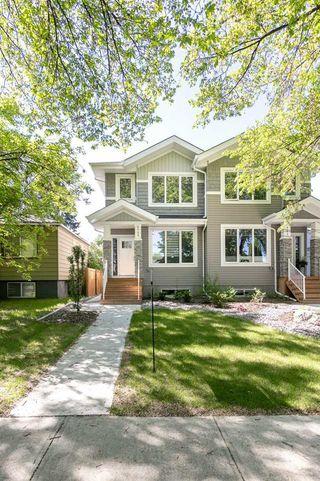 Photo 3: 9739 70 Avenue in Edmonton: Zone 17 House Half Duplex for sale : MLS®# E4200433