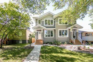 Photo 1: 9739 70 Avenue in Edmonton: Zone 17 House Half Duplex for sale : MLS®# E4200433