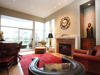 """Photo 7: 1596 ISLAND PARK Walk in Vancouver: False Creek Townhouse for sale in """"THE LAGOONS"""" (Vancouver West)  : MLS®# V922558"""