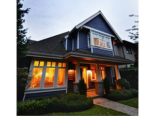 Photo 1: 2716 W 37TH Avenue in Vancouver: Kerrisdale House for sale (Vancouver West)  : MLS®# V1031547