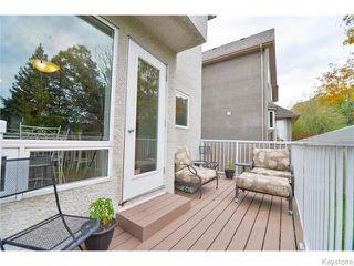 Photo 19: 1127 Colby Avenue in WINNIPEG: Fort Garry / Whyte Ridge / St Norbert Residential for sale (South Winnipeg)  : MLS®# 1526761