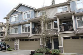 """Photo 1: 41 22225 50TH Avenue in Langley: Murrayville Townhouse for sale in """"Murray's Landing"""" : MLS®# R2045874"""
