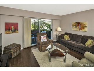 Photo 1: 112 1490 Garnet Road in VICTORIA: SE Cedar Hill Condo Apartment for sale (Saanich East)  : MLS®# 368666