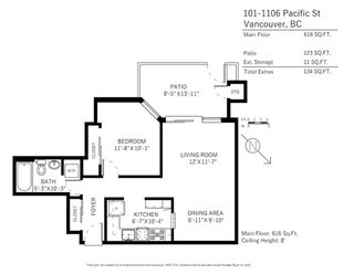 "Photo 20: 101 1106 PACIFIC Street in Vancouver: West End VW Condo for sale in ""Westgate Landing"" (Vancouver West)  : MLS®# R2146299"