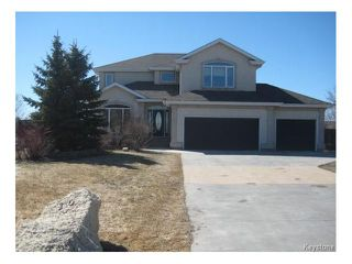 Photo 1: 10 GLENWOOD Way in East St Paul: Pritchard Farm Residential for sale (3P)  : MLS®# 1708155