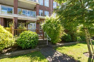 "Photo 1: 115 4280 MONCTON Street in Richmond: Steveston South Townhouse for sale in ""The Village at Imperial Landing"" : MLS®# R2233408"