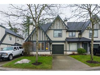 "Photo 1: 4 18883 65 Avenue in Surrey: Cloverdale BC Townhouse for sale in ""APPLEWOOD"" (Cloverdale)  : MLS®# R2246448"